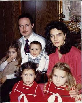Conchita y su familia.