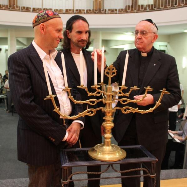 Cardinal Jorge Mario Bergoglio, Sergio Bergman, Alejandro Avruj